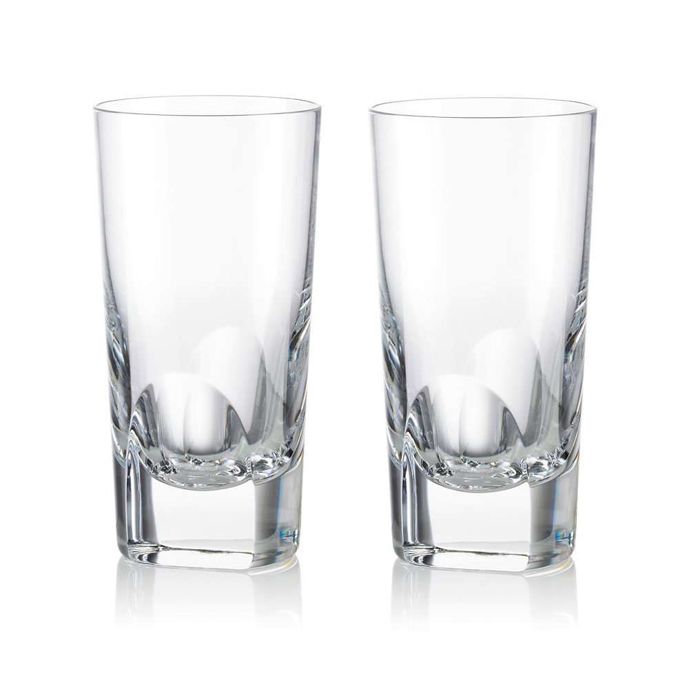 Rogaska 1665 Manhattan Large Highball Pair