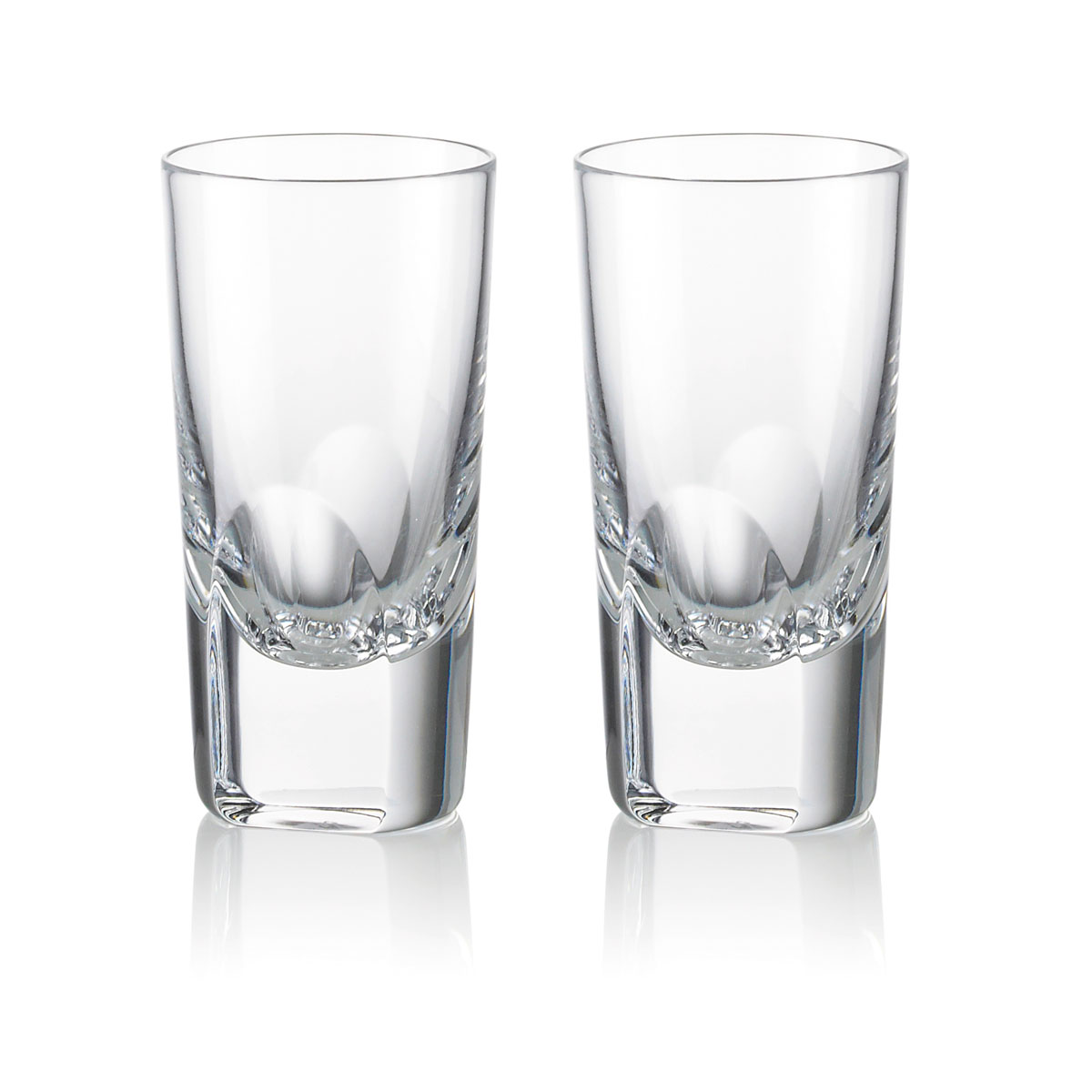 Rogaska Crystal, 1665 Manhattan Vodka, Pair