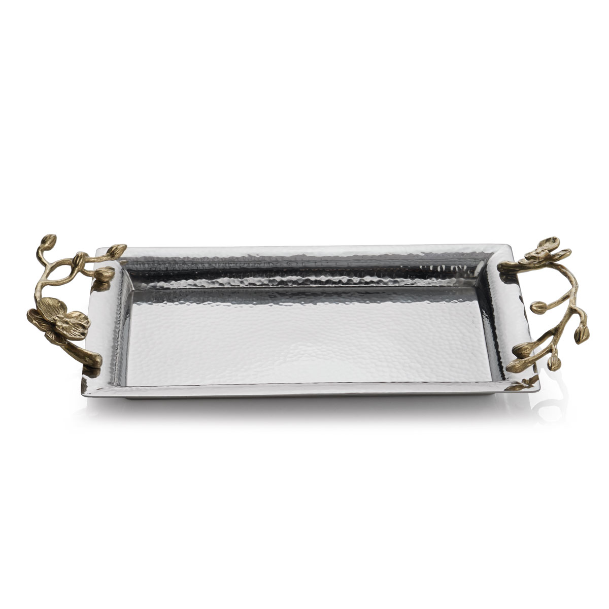 Michael Aram Golden Orchid Mini Steel Tray