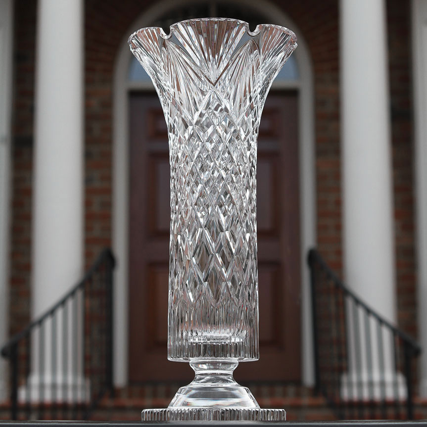Cashs Ireland, Art Collection, Blanaid Crystal Vase, Limited Edition