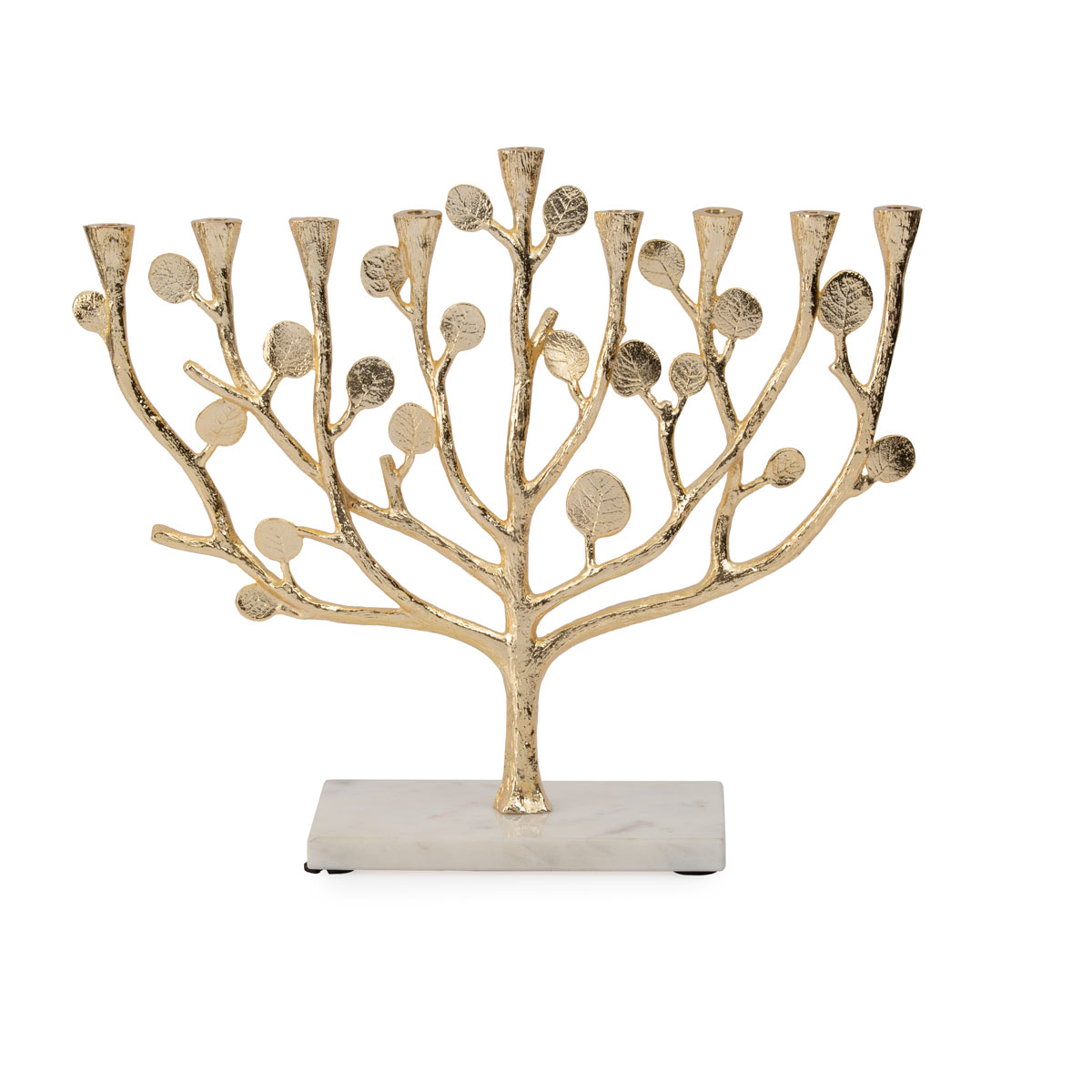 Michael Aram Botanical Leaf Gold Menorah