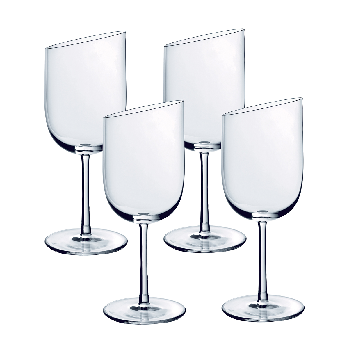 Villeroy and Boch NewMoon Glass White Wine Set of 4