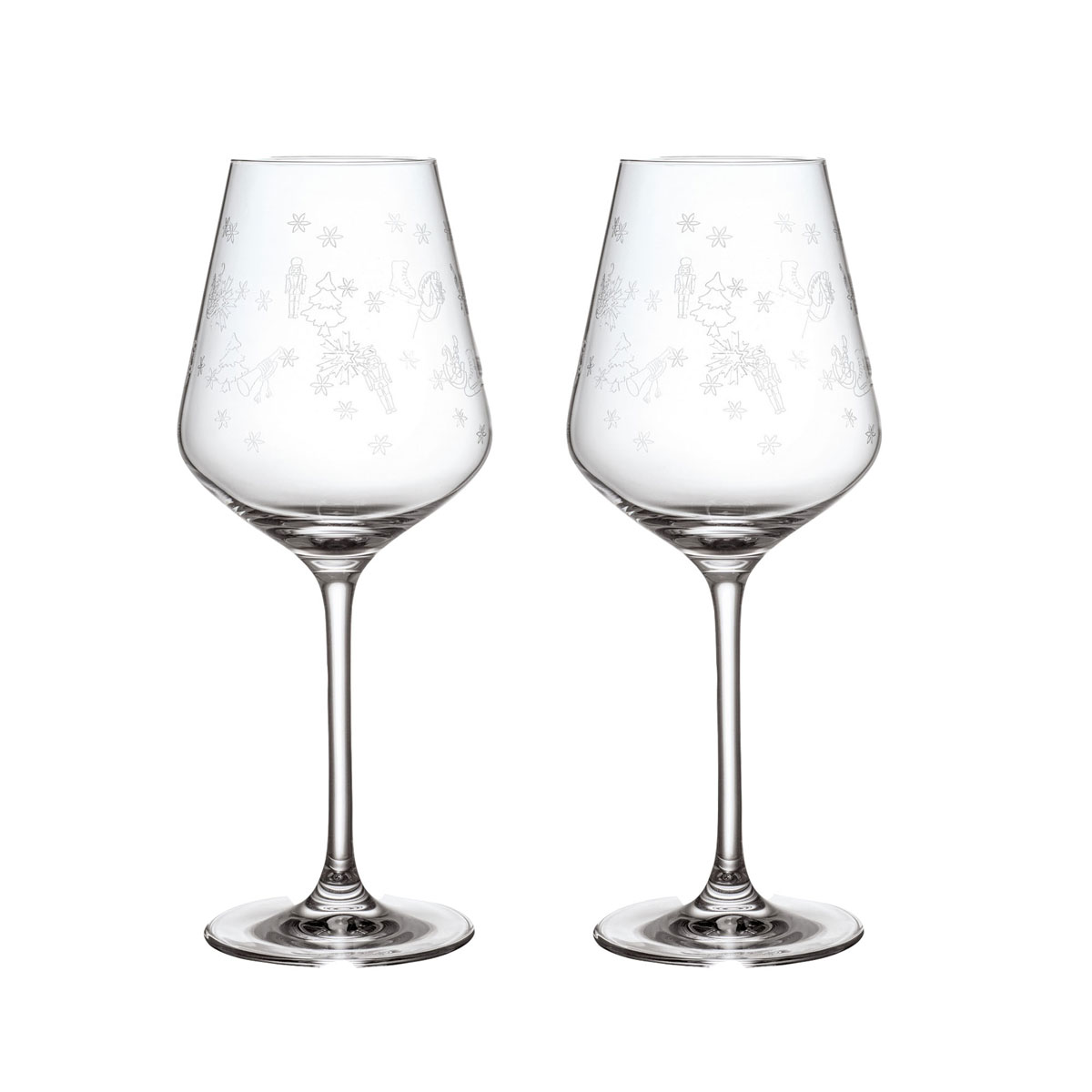 Villeroy and Boch Toys Delight Red Wine Goblet, Pair
