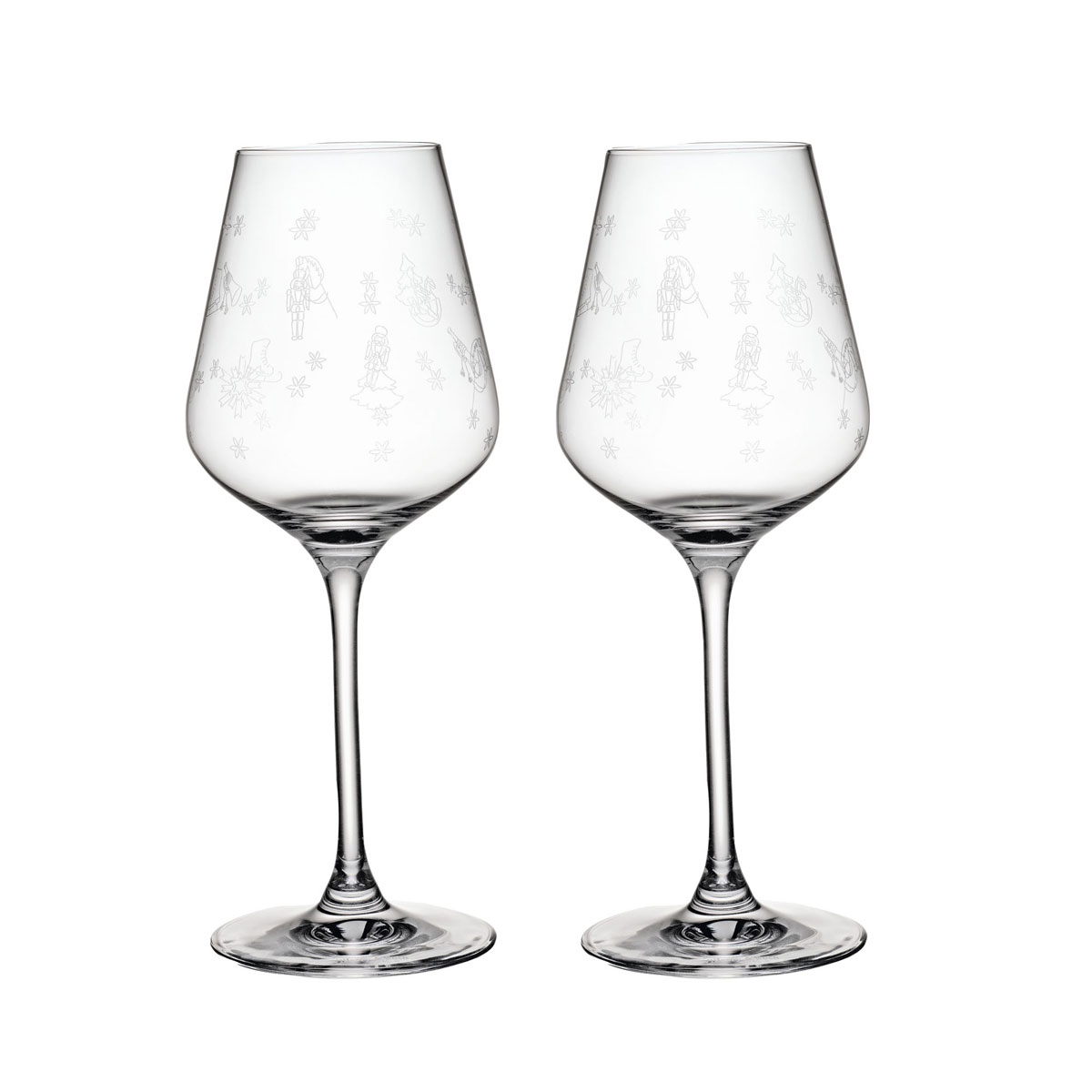 Villeroy and Boch Toys Delight White Wine Goblet Pair