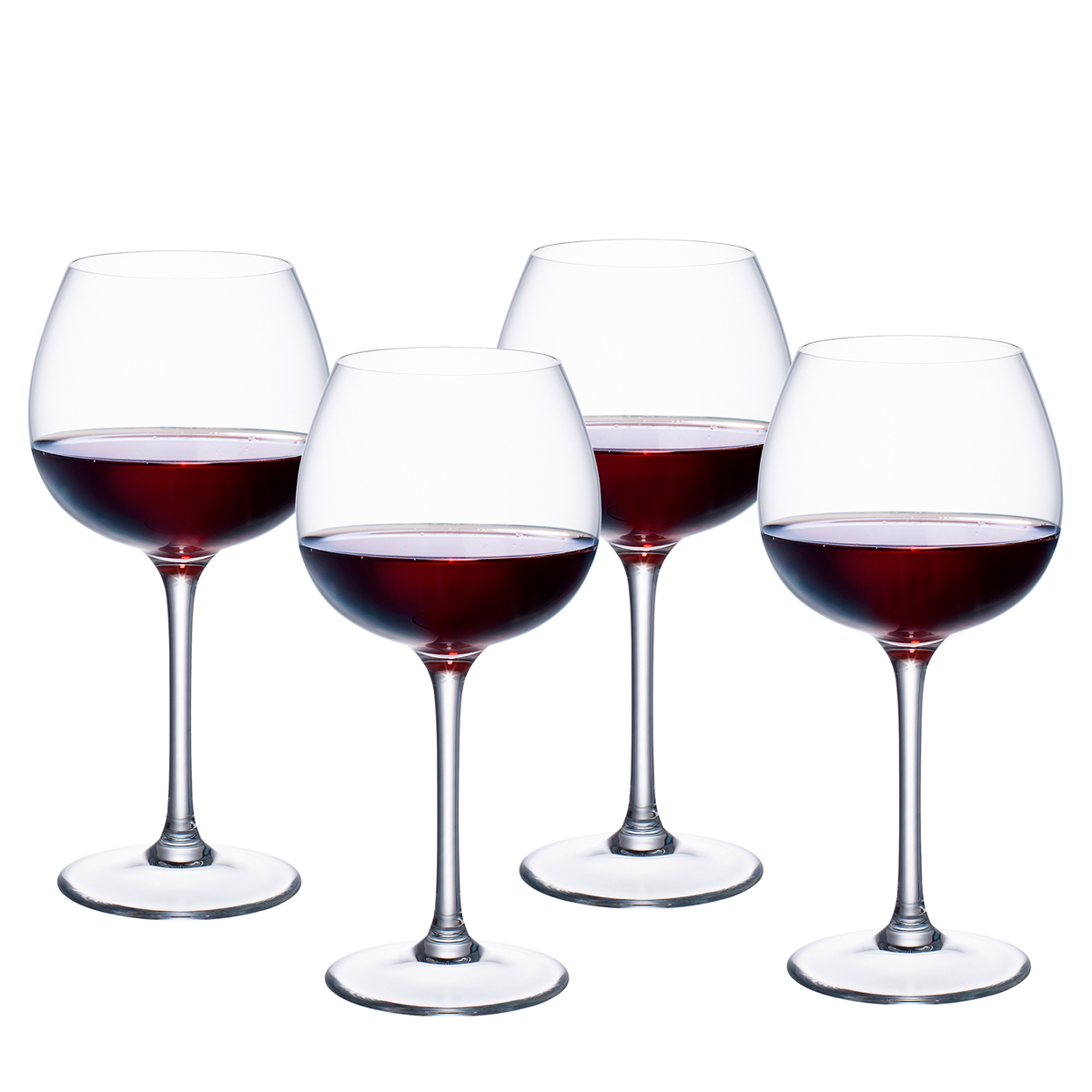 Villeroy and Boch Purismo Wine Red Wine Full Bodied Set of 4