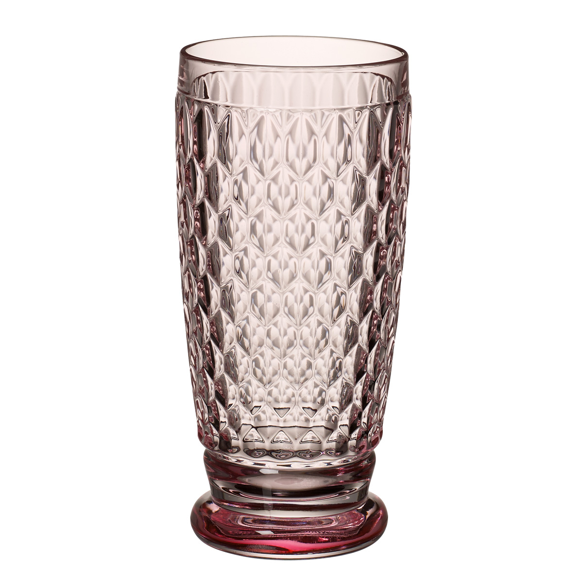 Villeroy and Boch Boston Colored Highball, Tumbler Set of 4 Rose
