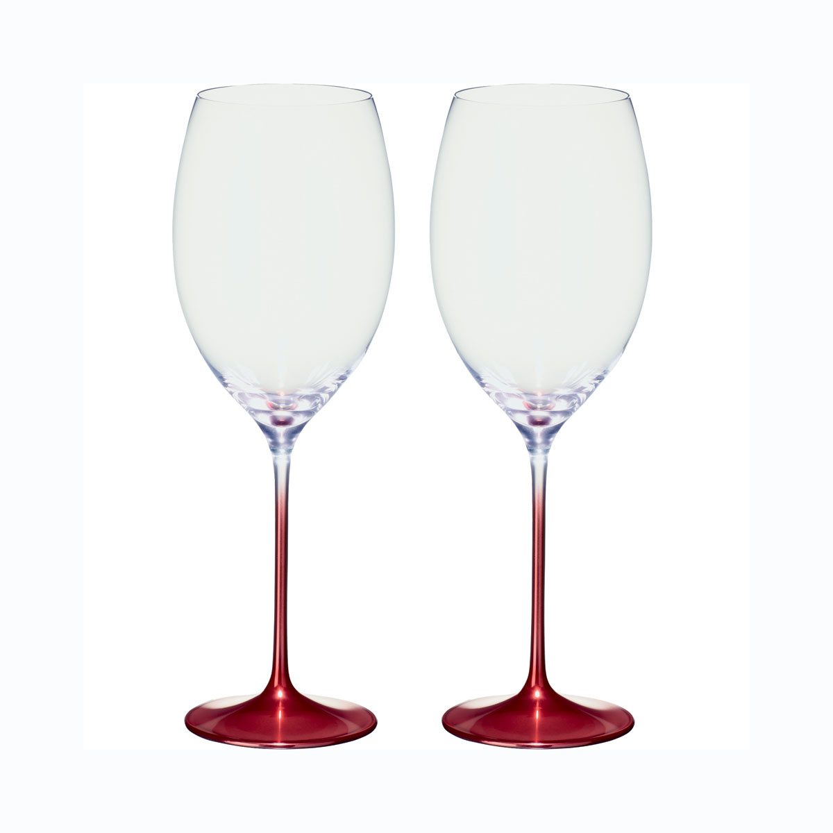 Villeroy and Boch Allegorie Premium Rose Bordeaux Pair