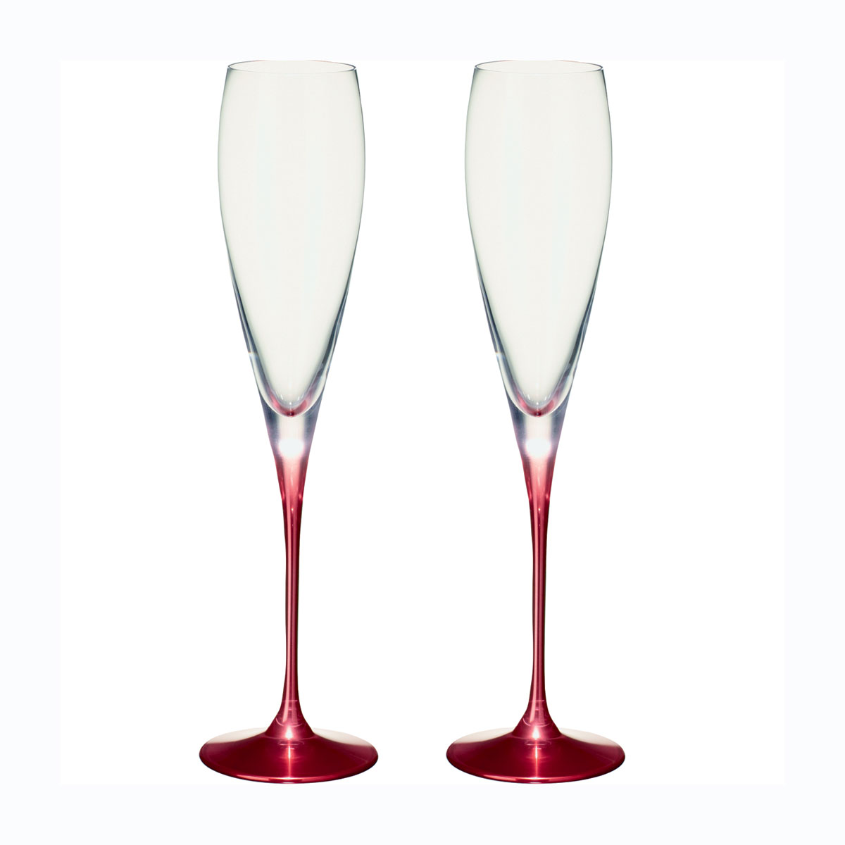 Villeroy and Boch Allegorie Premium Rose Champagne Pair