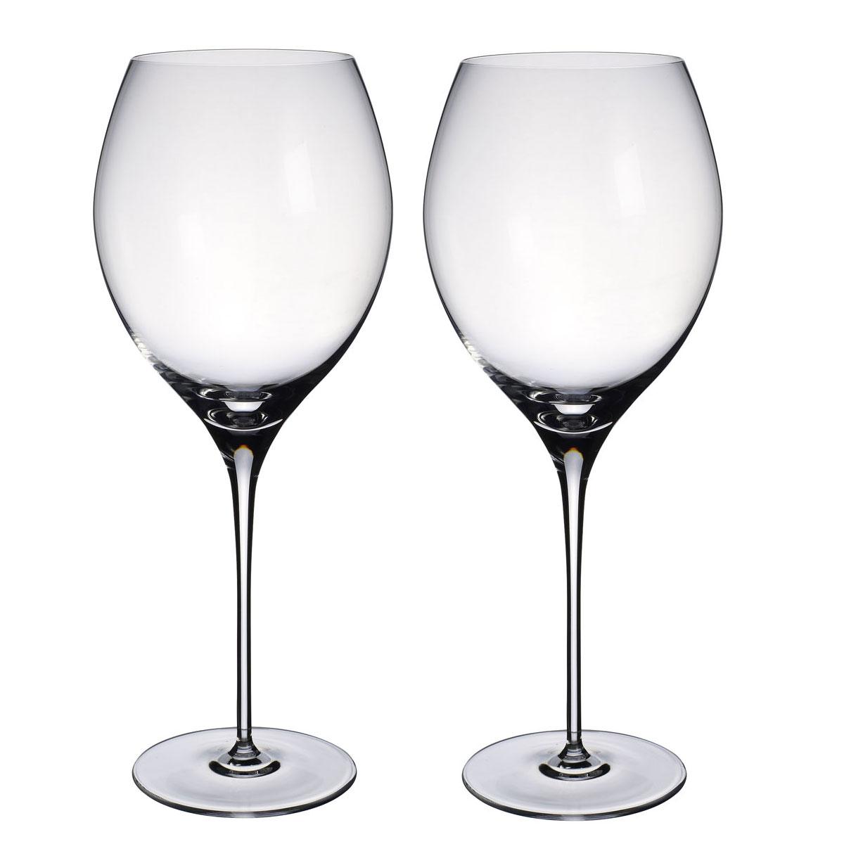 Villeroy and Boch Allegorie Premium Bordeaux, Grand Cru Pair