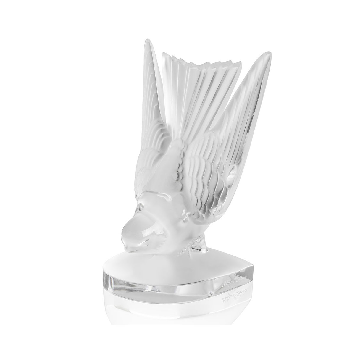 Lalique Hirondelle, Hirondelles, Swallows Paperweight, Clear