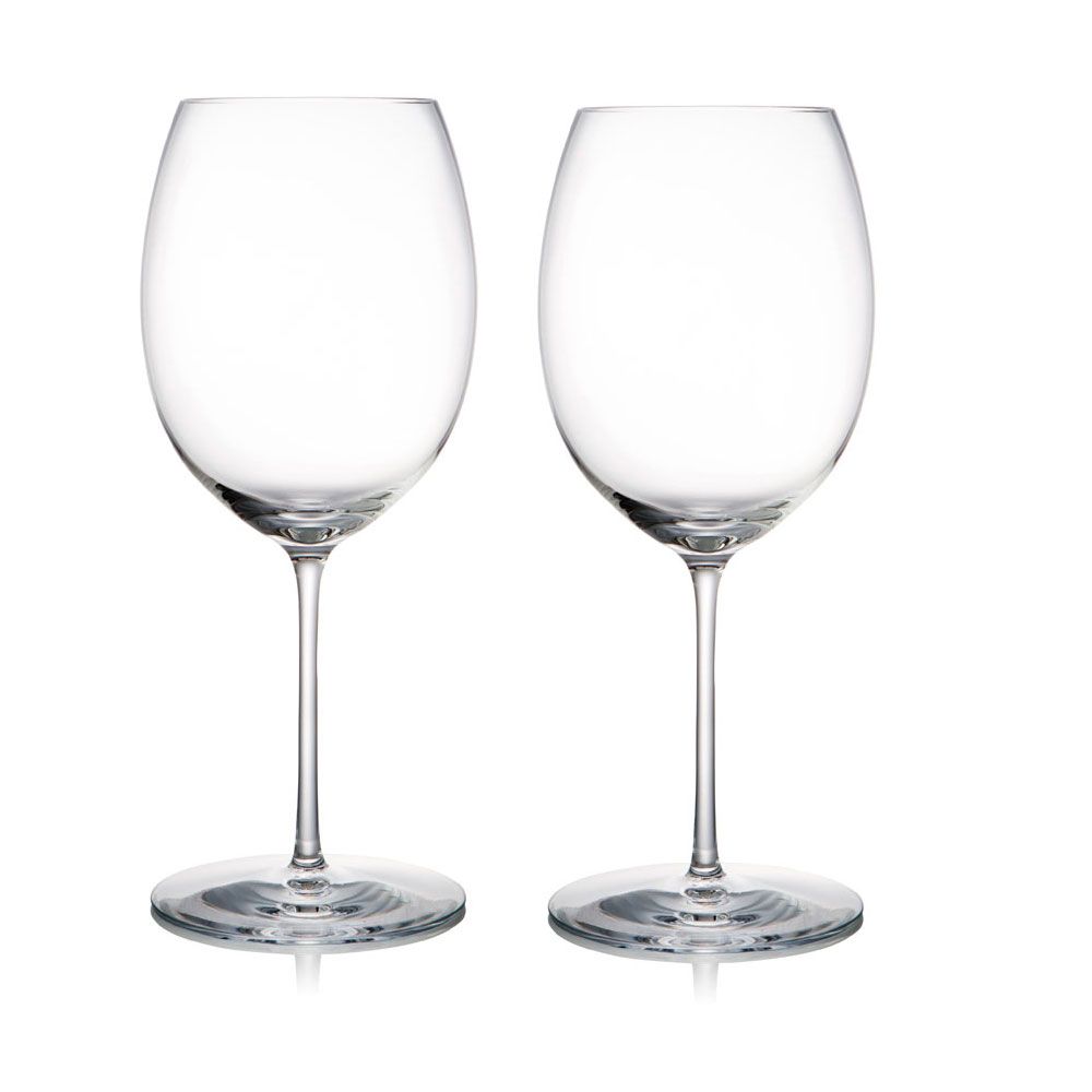 Rogaska Crystal, 1665 Expert Crystal Red Wine, Pair
