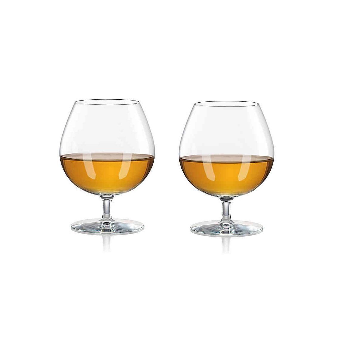 Rogaska 1665 Expert Cognac Pair