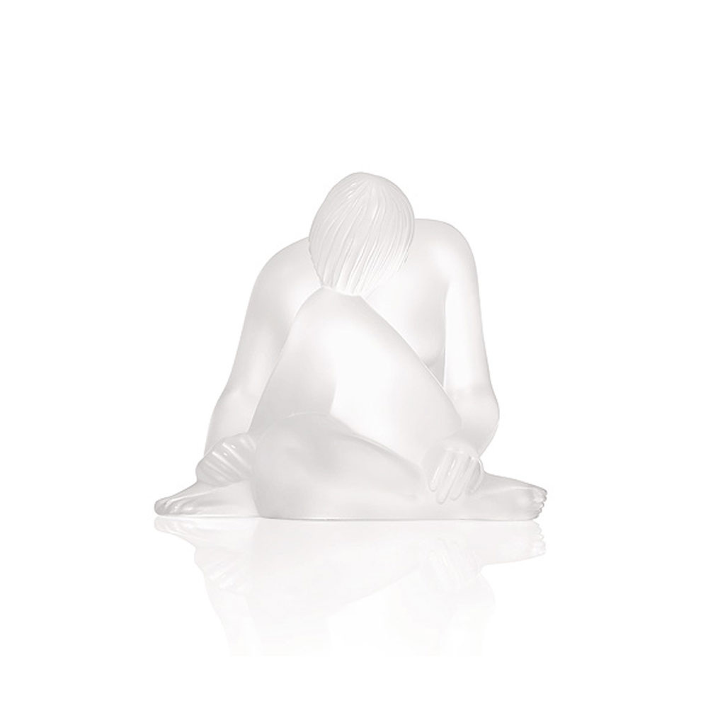 Lalique Crystal, Nude Reve, Dream Sculpture, Clear