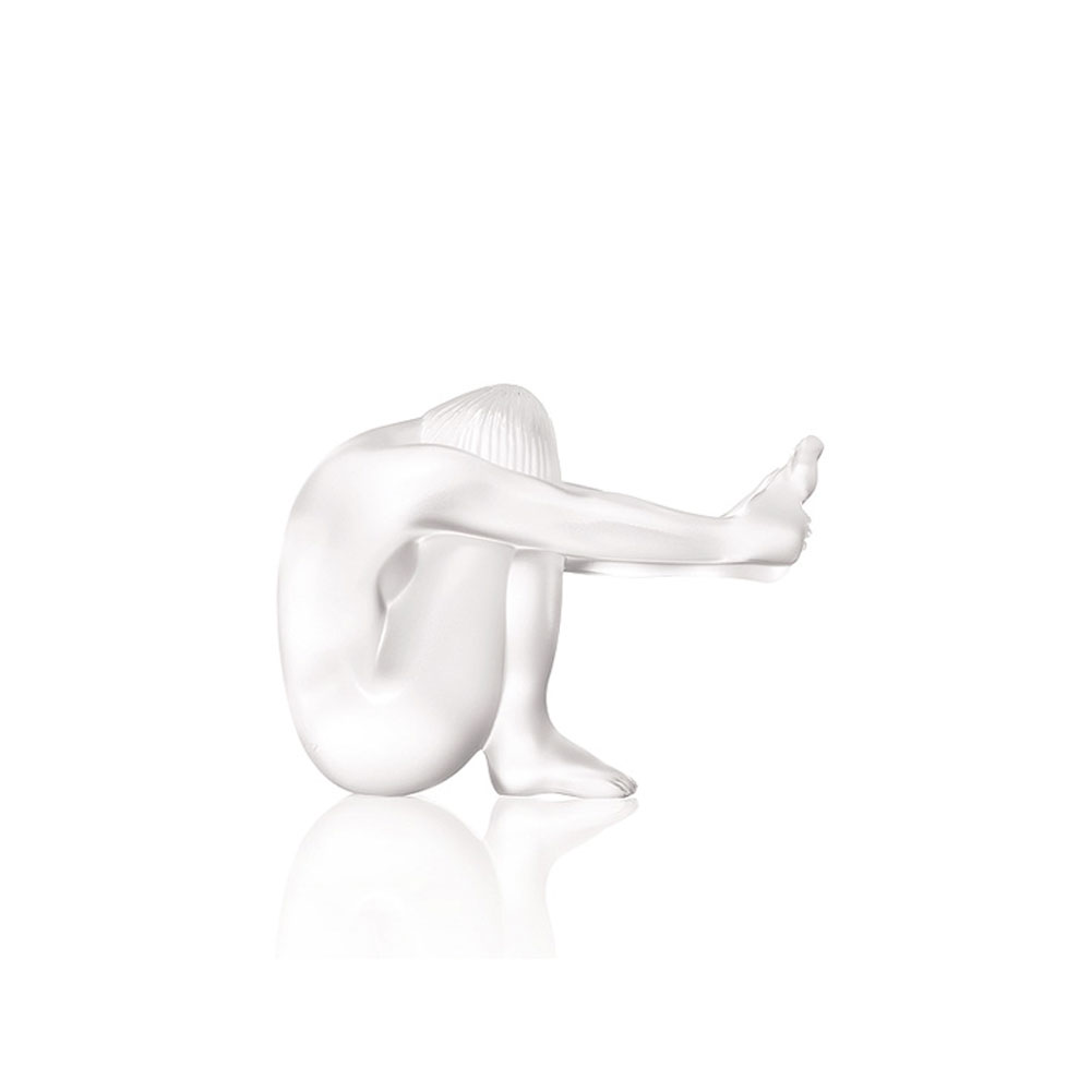 "Lalique Nude Temptation 3.7"" Sculpture"