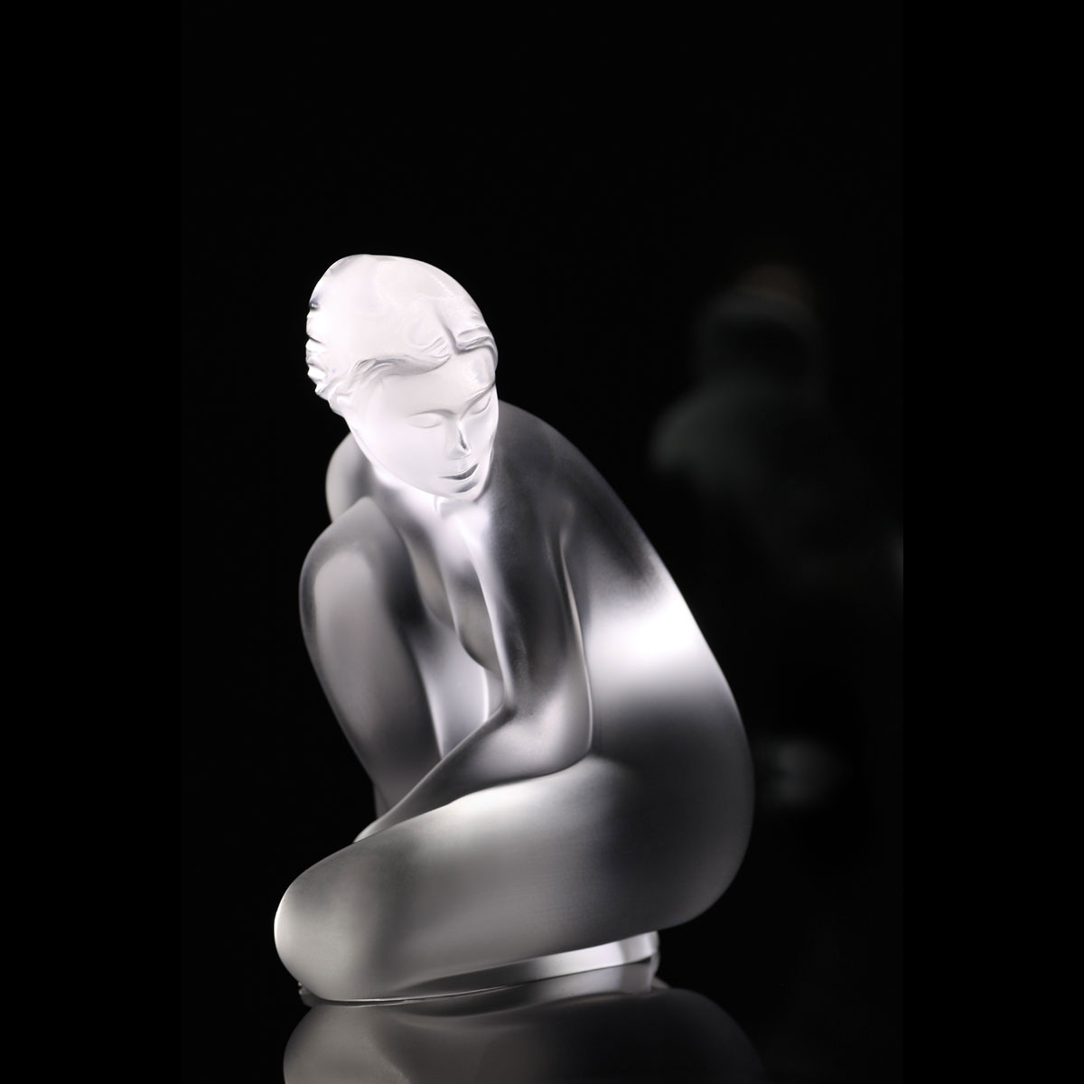 "Lalique Nude Venus 4"" Sculpture, Petite"
