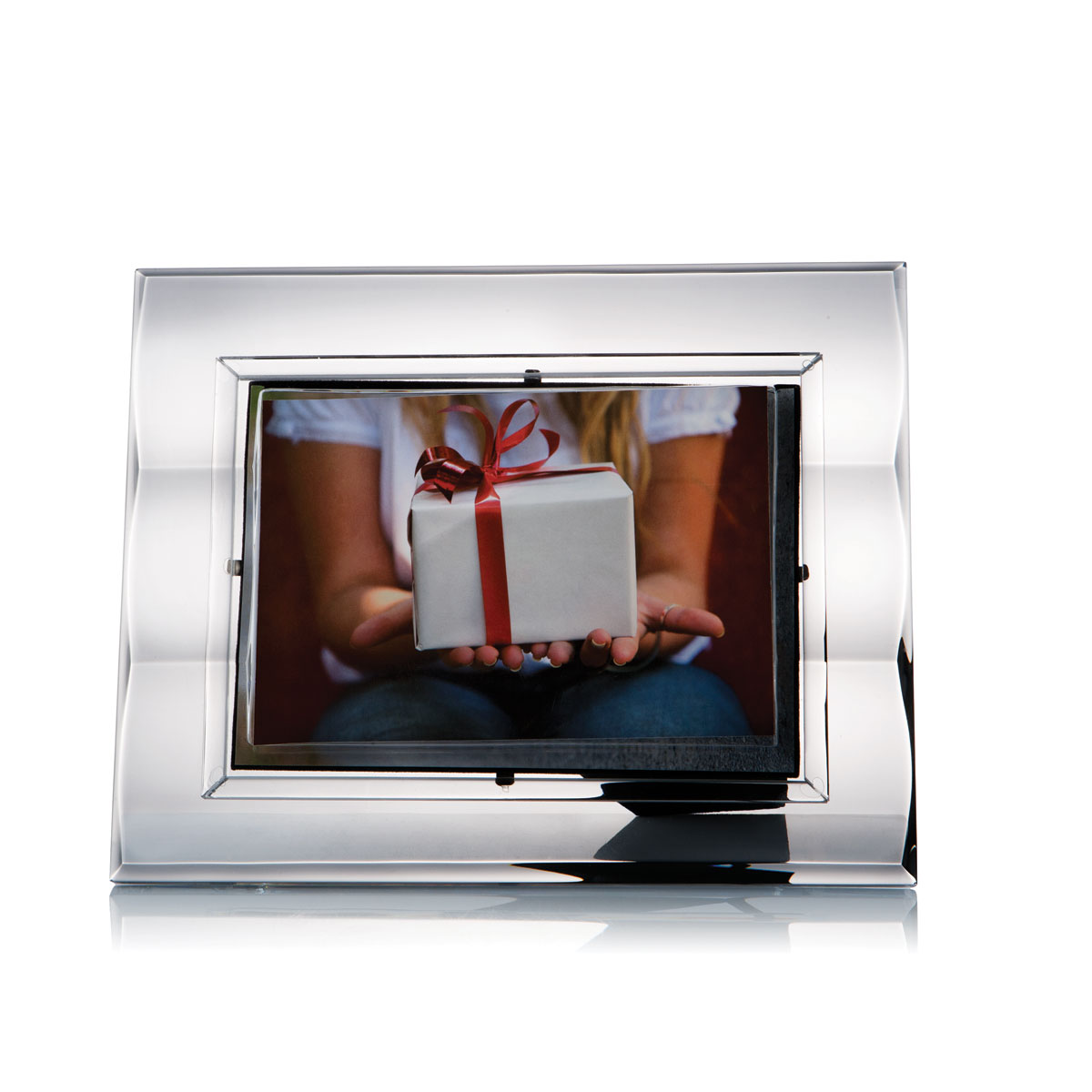 """Rogaska Zoom 5X7"""" Picture Frame"""