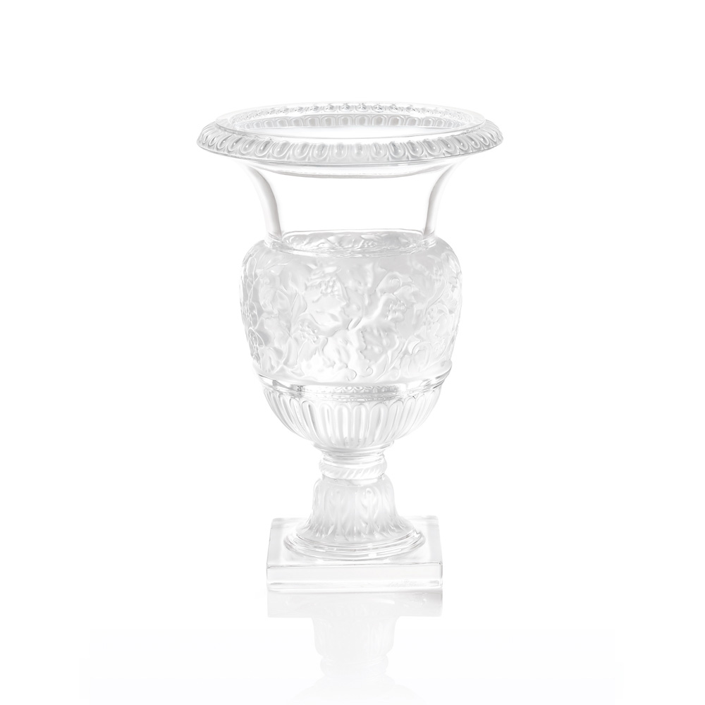 """Lalique Versailles 13.5"""" Vase"""