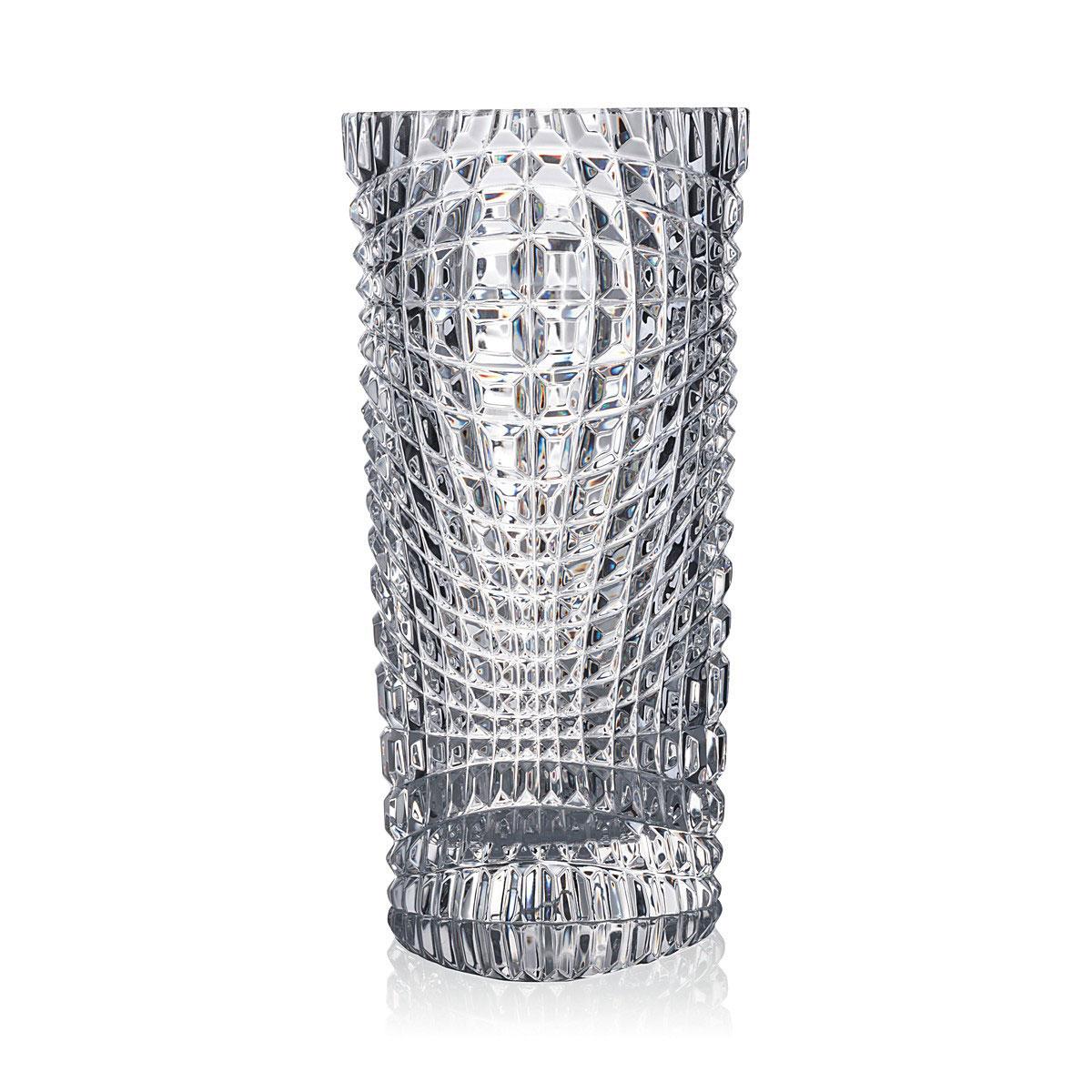 "Rogaska Crystal, Brilliance 10"" Crystal Vase"