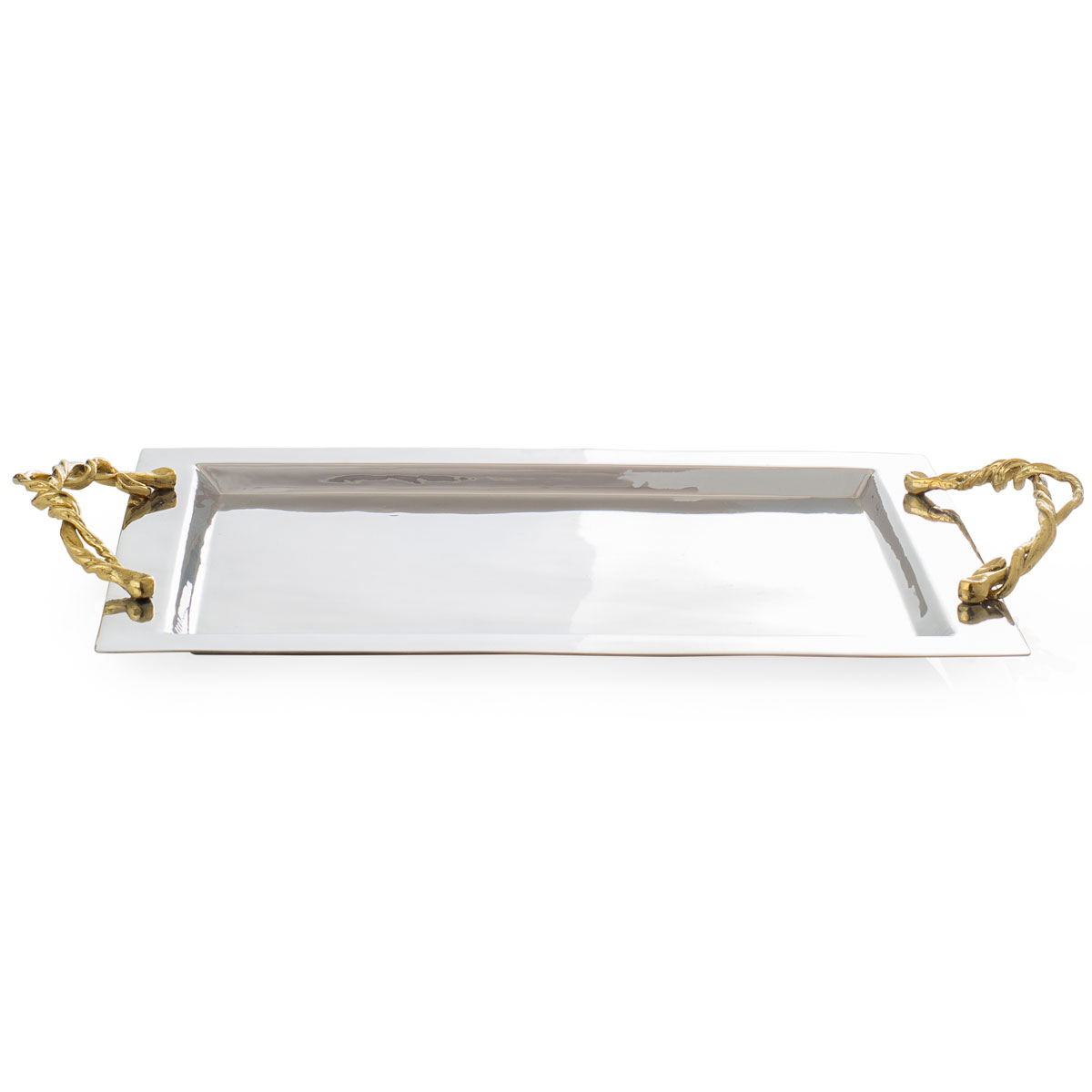Michael Aram Wisteria Gold Serving Tray