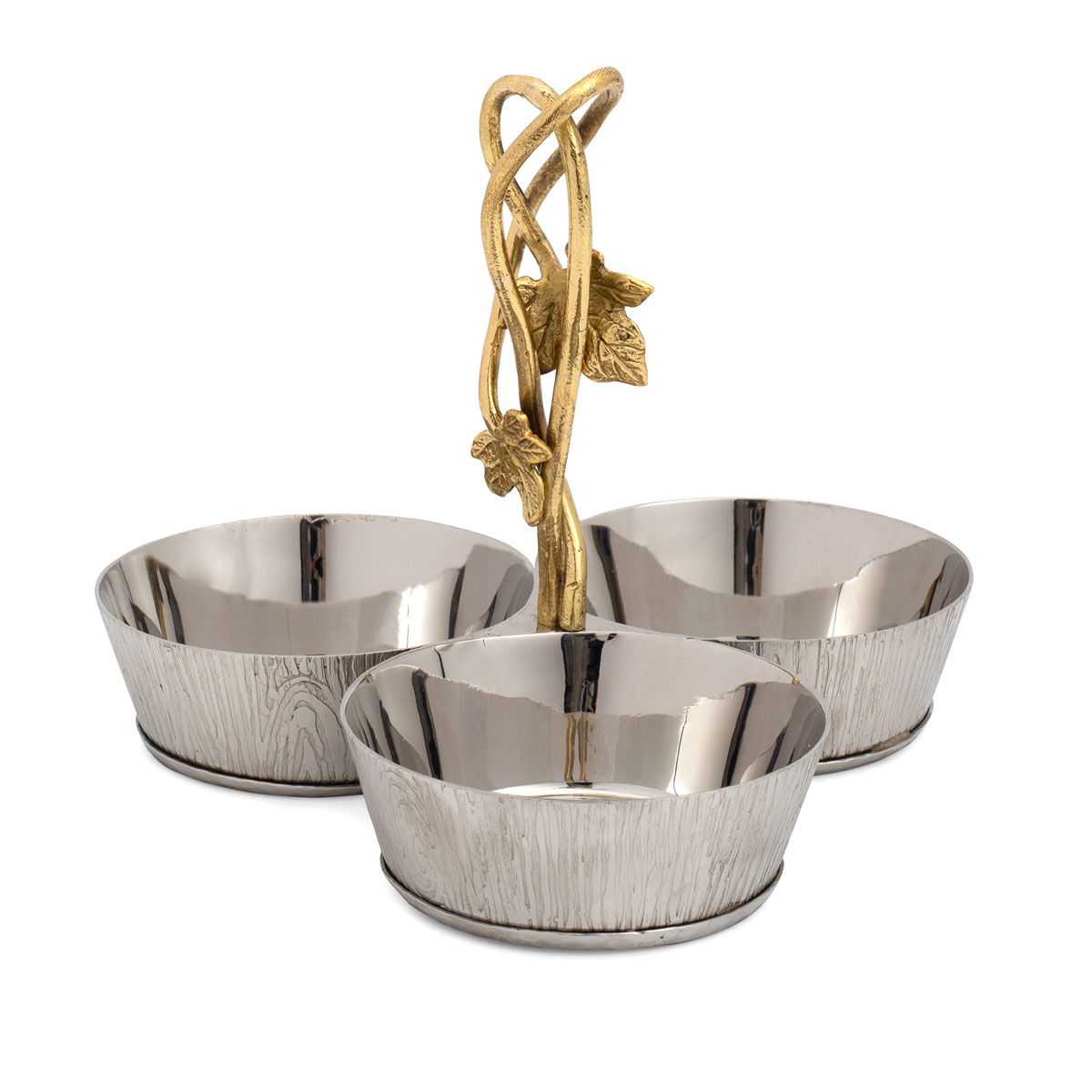 Michael Aram Ivy and Oak Triple Dish Set