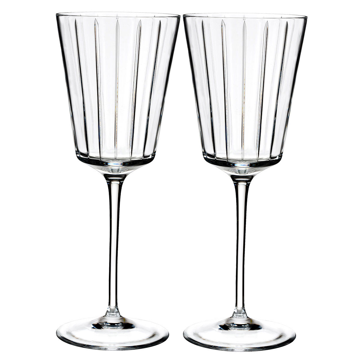 Rogaska Crystal, Avenue All Purpose Crystal Wine, Pair