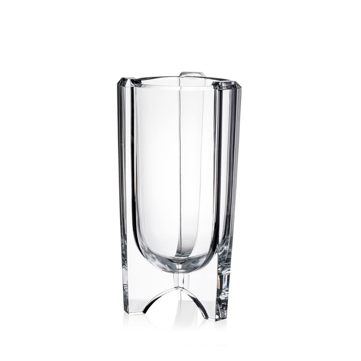 "Rogaska Crystal, Avant-Garde 12"" Crystal Vase"