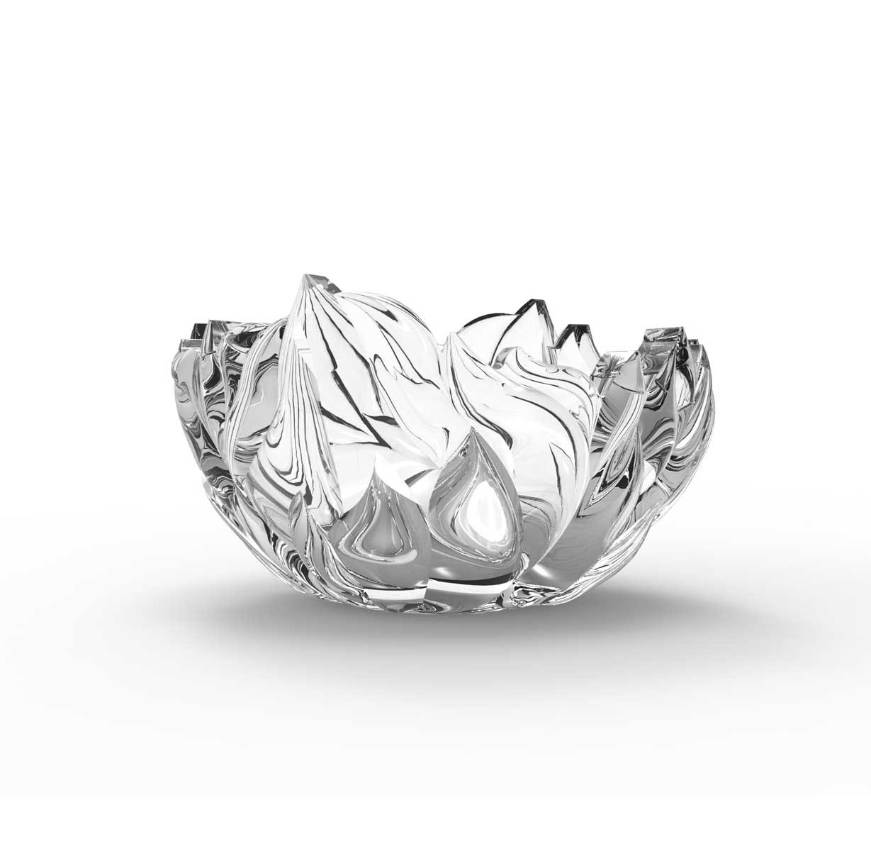 Rogaska Crystal, Four Elements Mini Fire Crystal Bowl
