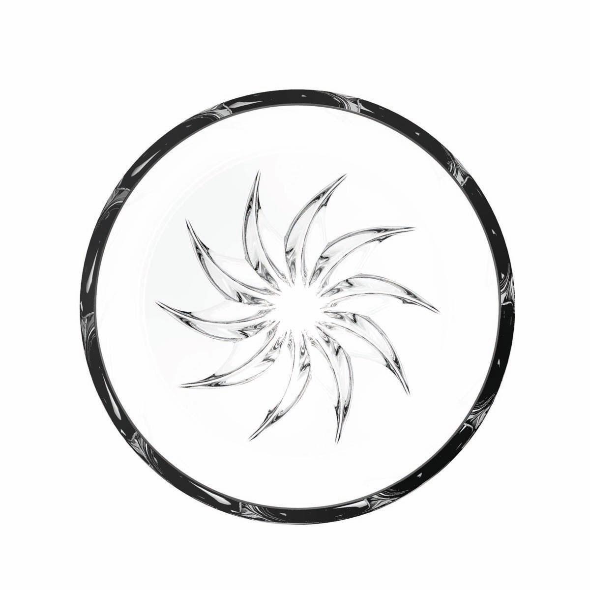 Rogaska Crystal, Live, Love, Sparkle Mini Crystal Bowl, Sun