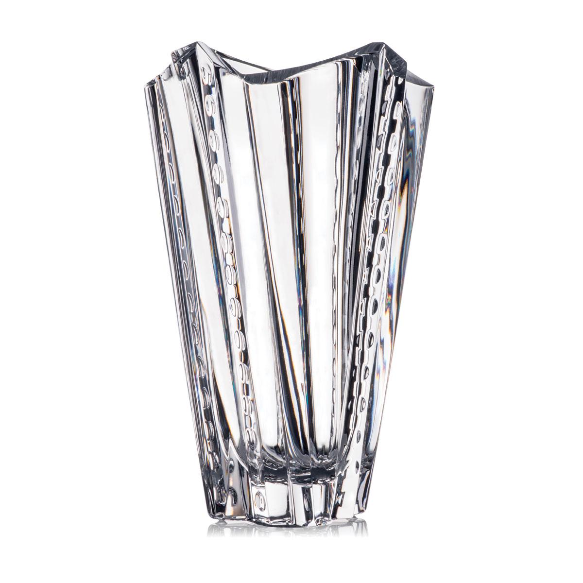 """Rogasaka Crystal Rockstar 12"""" Vase"""