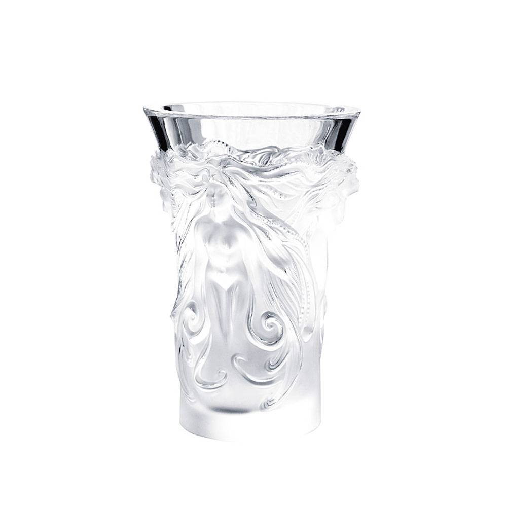 """Lalique Fantasia 7"""" Vase"""
