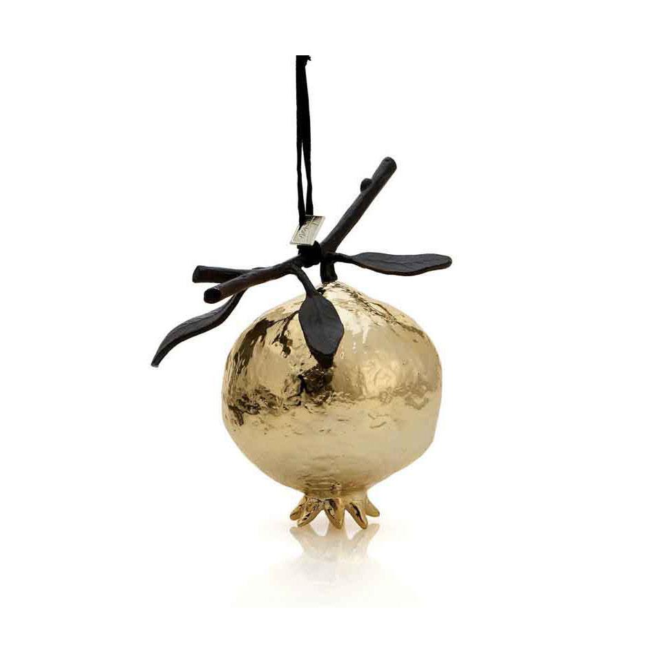 Michael Aram Pomegranate Ornament, Gold