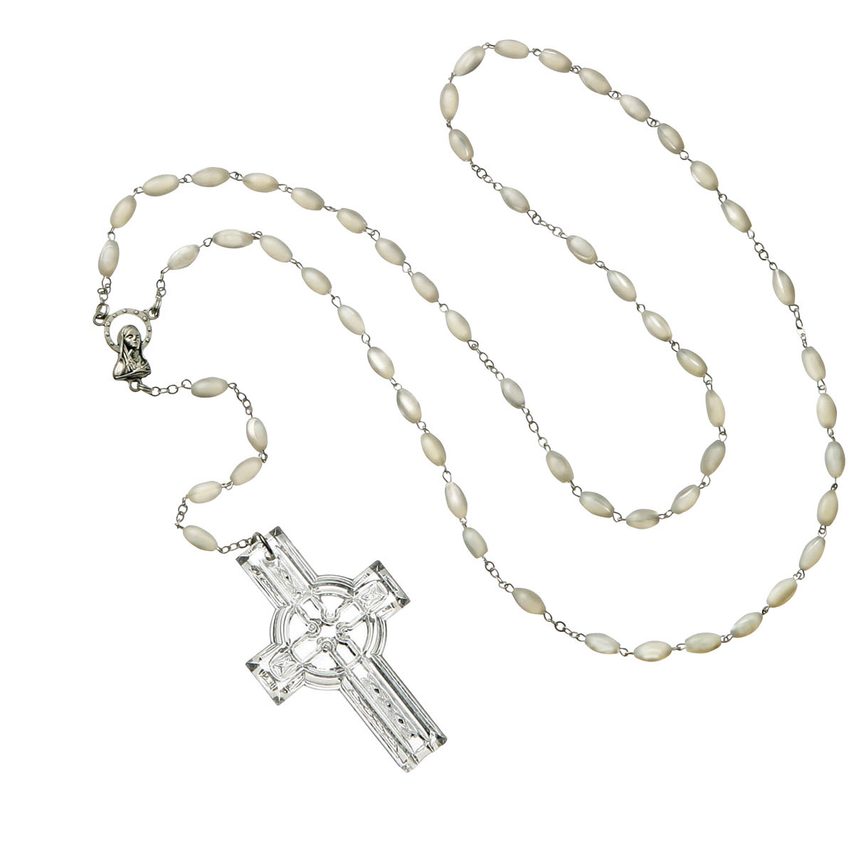 Waterford Crystal Rosary Beads