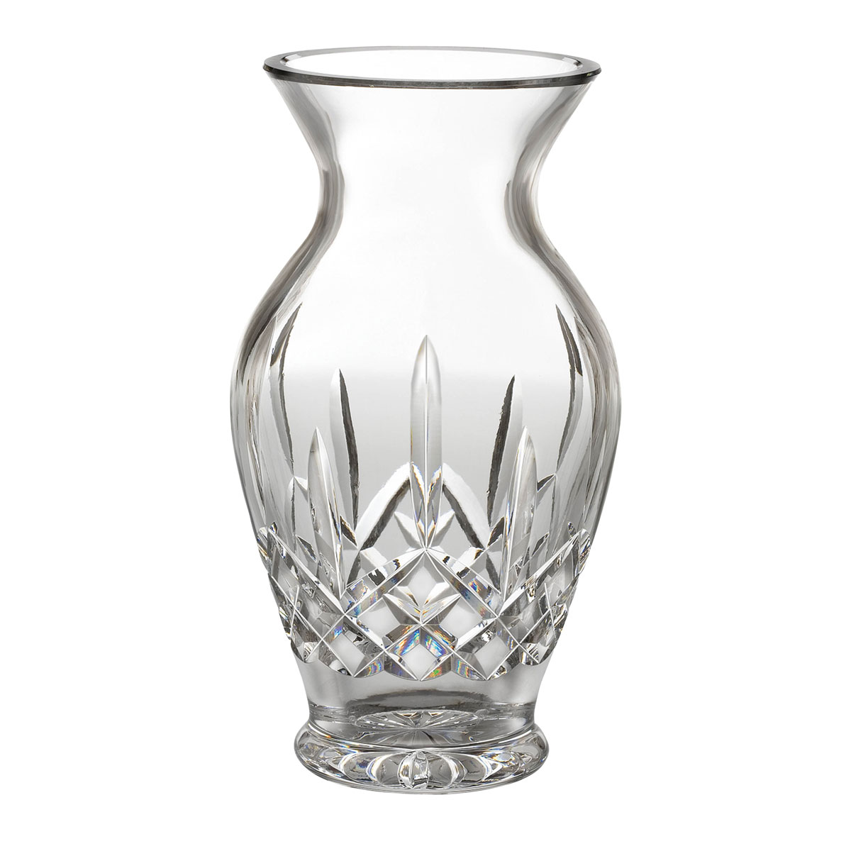 "Waterford Crystal, Lismore 10"" Bouquet Crystal Vase"