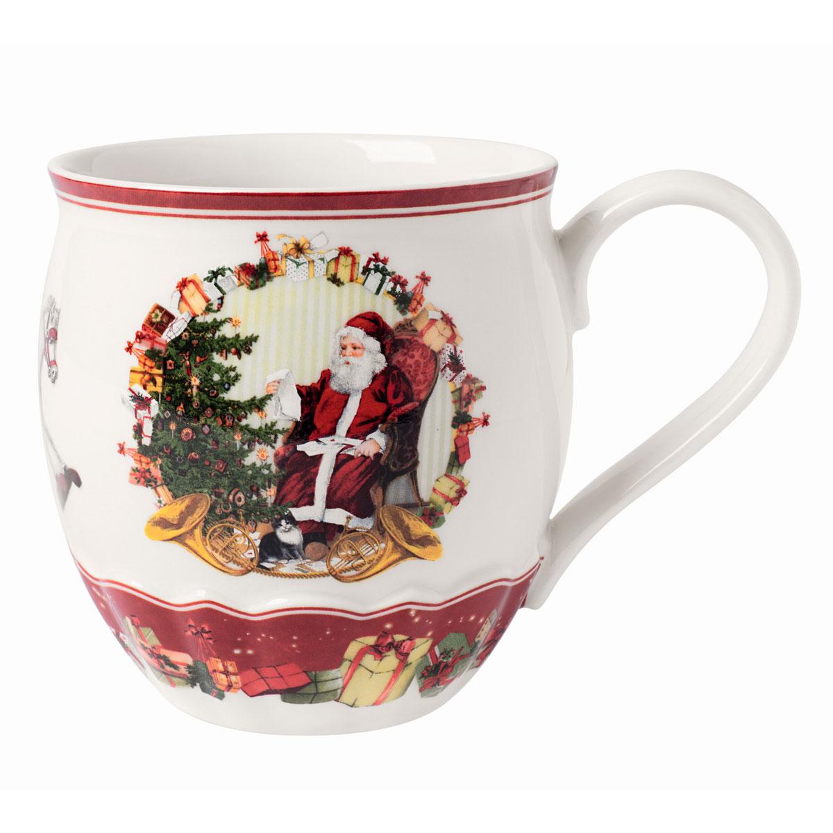 Villeroy and Boch Toys Fantasy Jumbo Mug, Santa