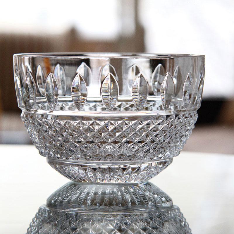 "Waterford Crystal, Irish Lace 10"" Crystal Bowl"