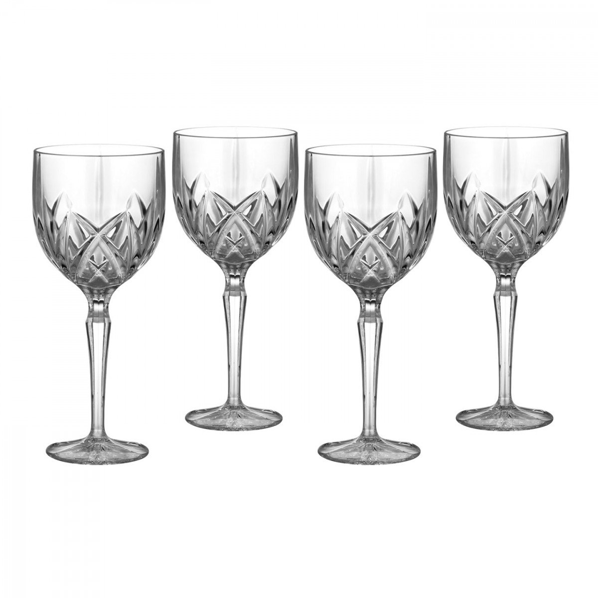 Marquis by Waterford, Brookside Red Wine Glasses, Set of Four