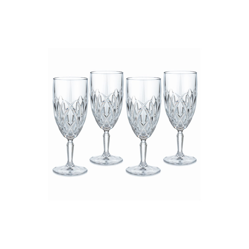 Marquis by Waterford Crystal, Brookside Crystal Iced Beverage Glass, Set of Four