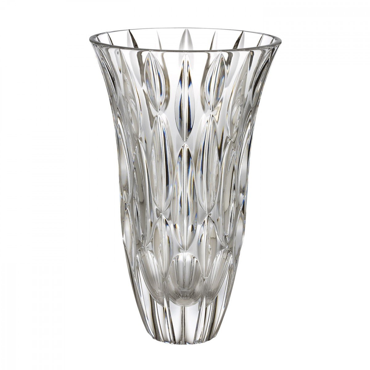 """Marquis by Waterford Crystal, Rainfall 9"""" Crystal Vase"""