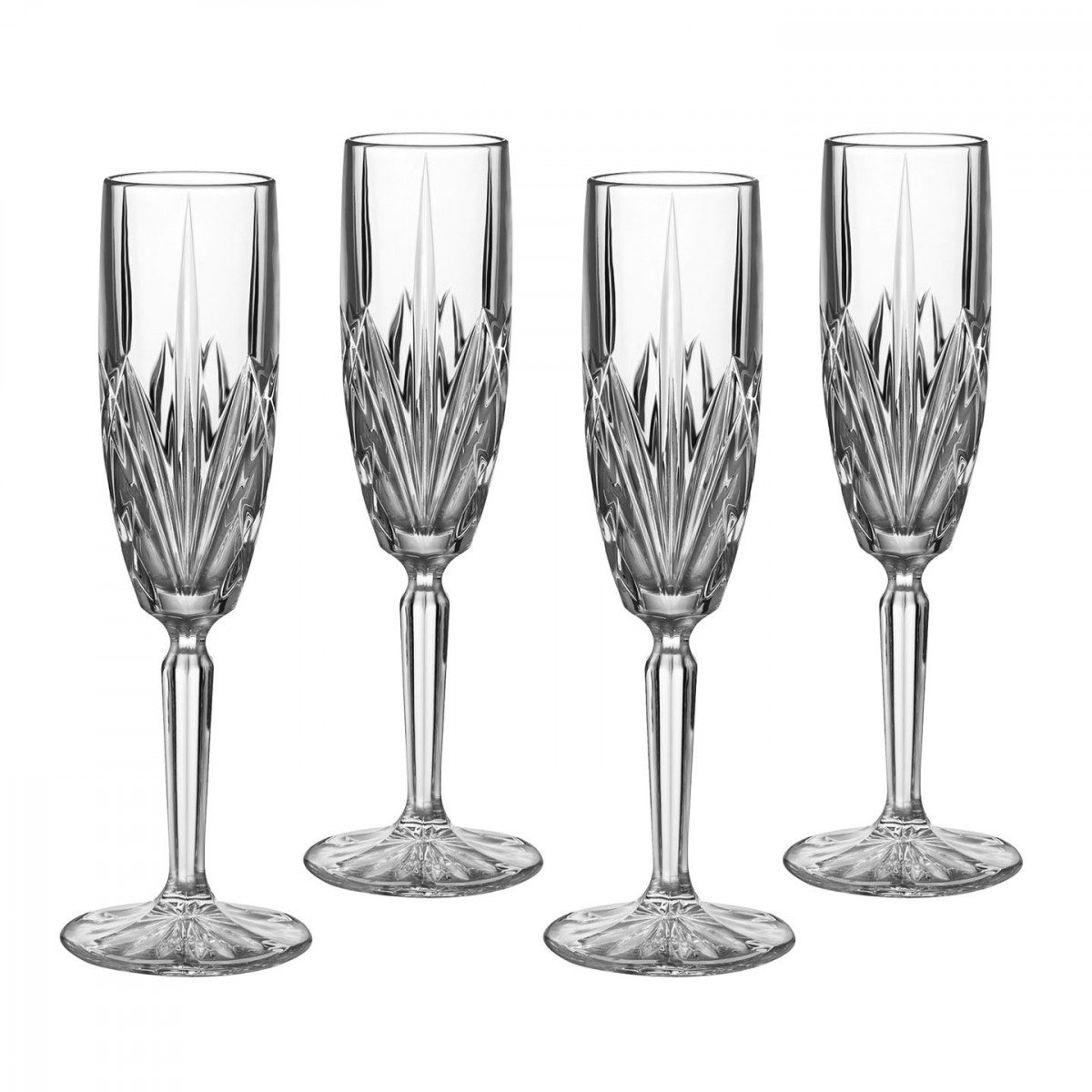 Marquis by Waterford, Brookside Flutes, Set of Four