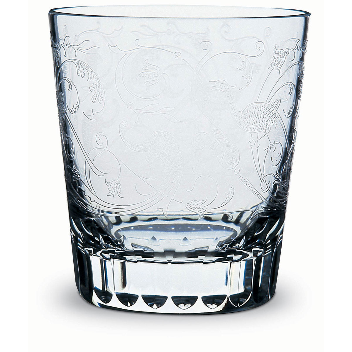 Baccarat Crystal, Parme Crystal Old Fashioned Tumbler, Single