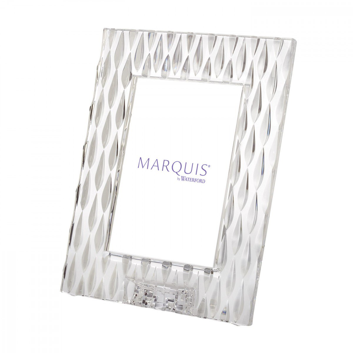 "Marquis by Waterford, Rainfall 5x7"" Picture Frame, Portrait"