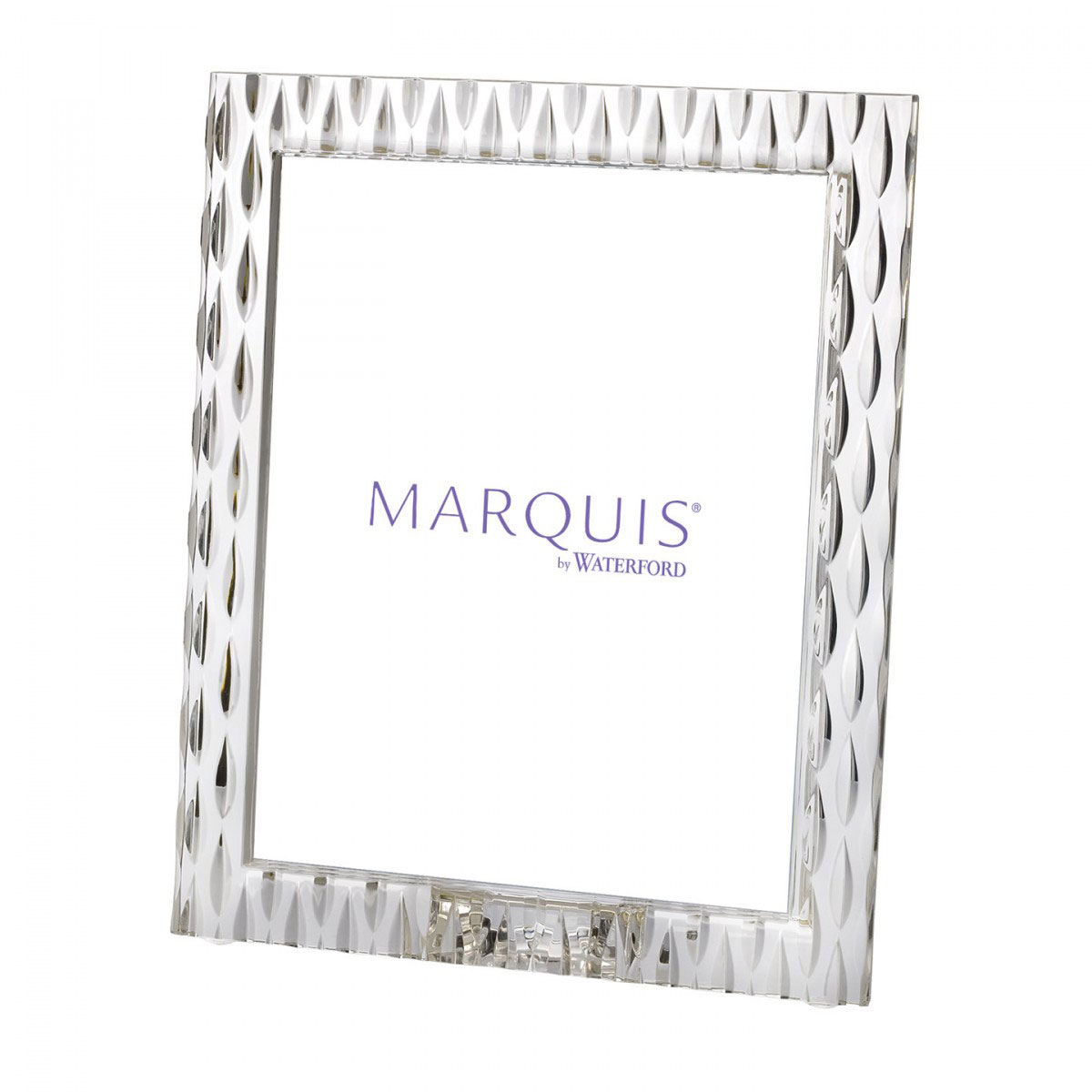 """Marquis by Waterford Crystal, Rainfall 8x10"""" Picture Frame, Portrait"""