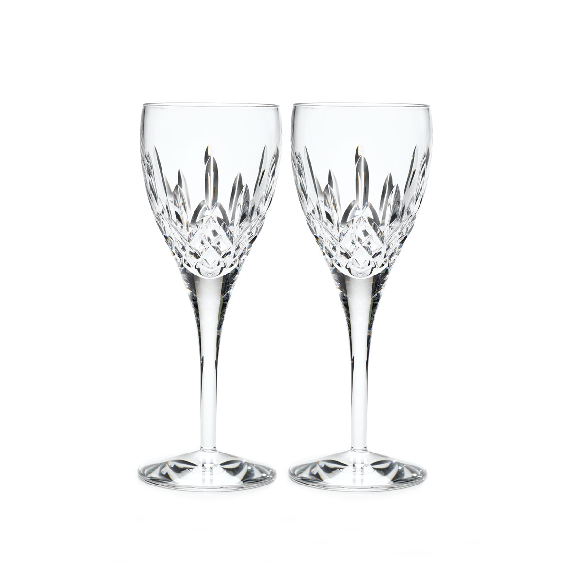 Waterford Crystal, Lismore Nouveau Crystal Goblet, Pair