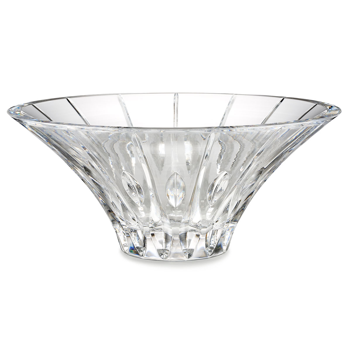 """Marquis by Waterford Crystal, Sheridan Flared 10"""" Crystal Bowl"""