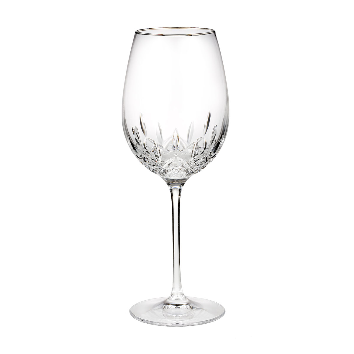 Waterford Crystal, Lismore Essence Platinum Crystal Goblet, Single