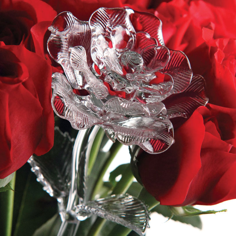 Waterford Crystal Fleurology Flower, Rose