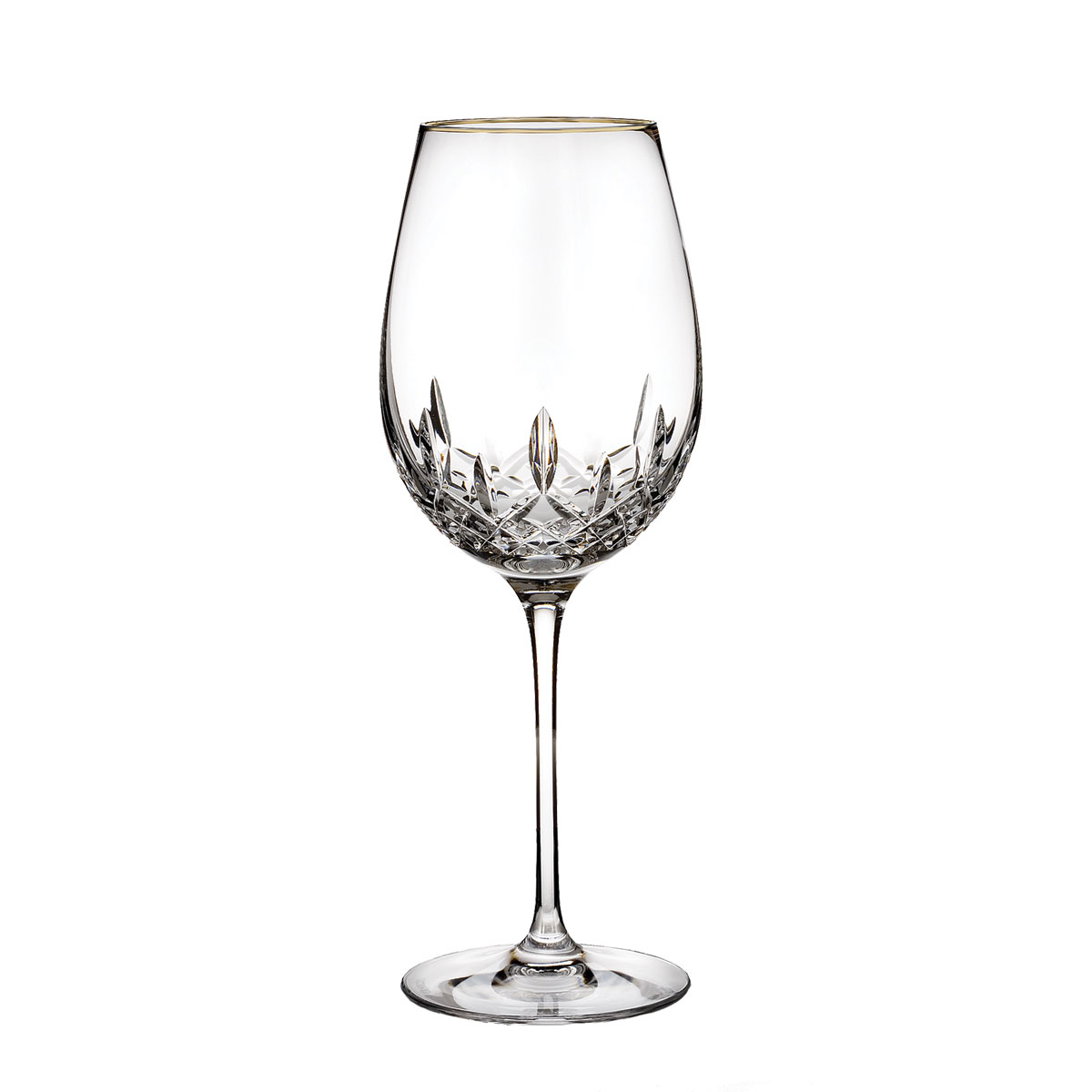 Waterford Crystal, Lismore Essence Gold Crystal White Wine, Single