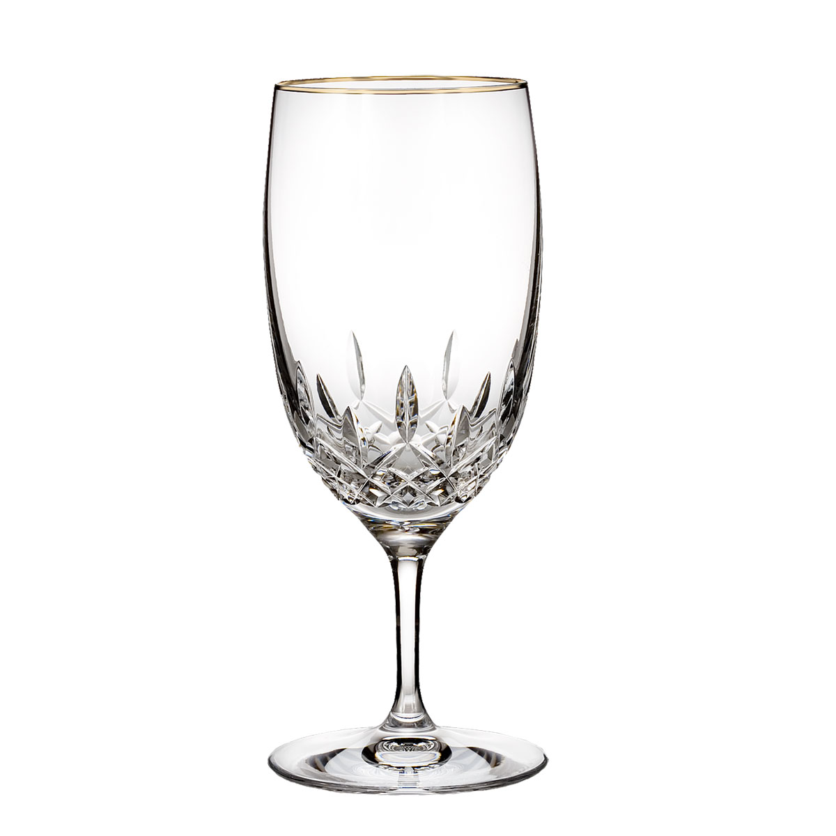 Waterford Crystal, Lismore Essence Gold Crystal Iced Beverage, Single