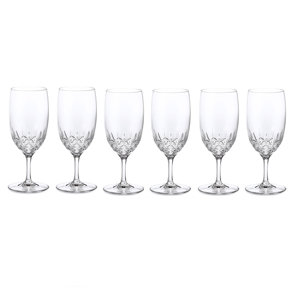 Waterford Crystal, Lismore Essence Iced Beverage, Boxed Set 5+1 Free