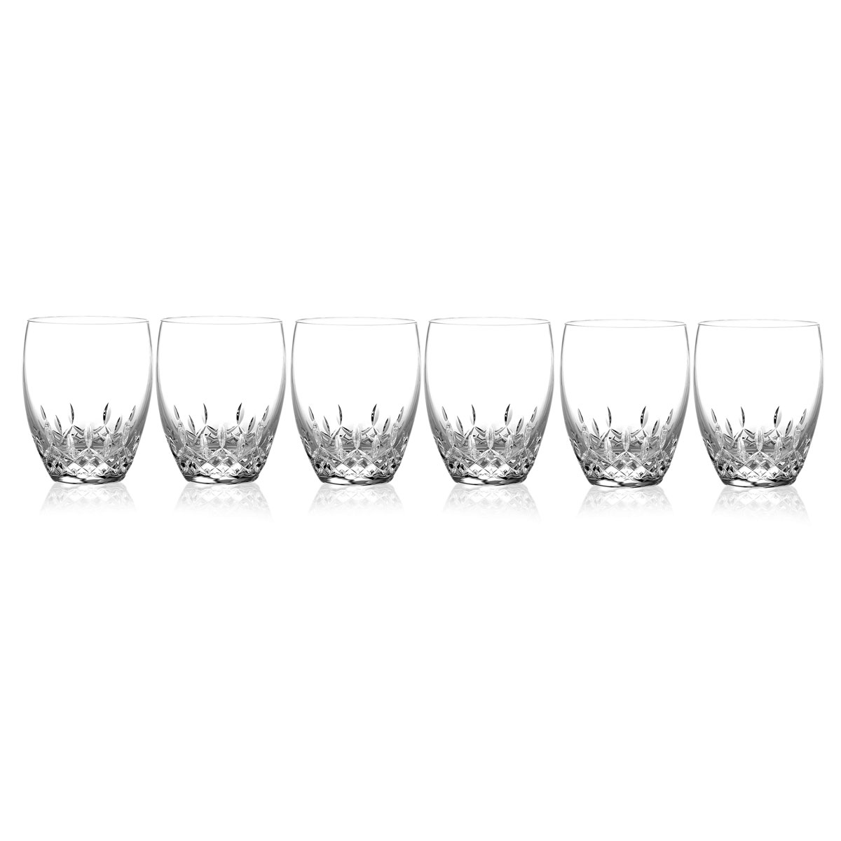 Waterford Crystal, Lismore Essence Crystal DOF Tumblers, Set of 5+1 Free